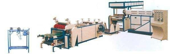 PP / LDPE Extrusion Coating Lamination Line For Woven Fabric / Woven Bag