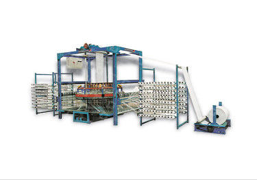 High Speed Four Shuttle Circular Loom Knitting Machine Low Energy Consumption