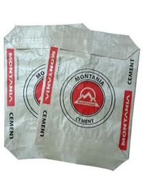 Polypropylene Woven Cement Valve Bags Dust resistant Multi Color Printed